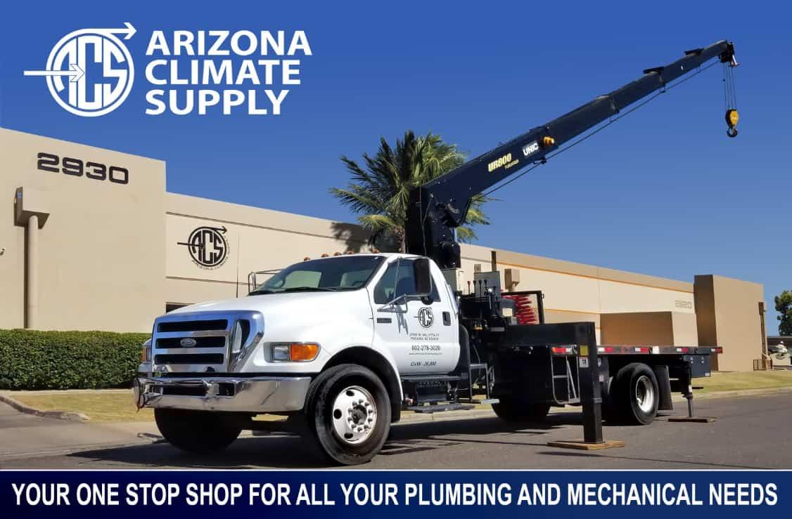 Arizona Climate Supply - F750 18klbs Boom Crane For Hire