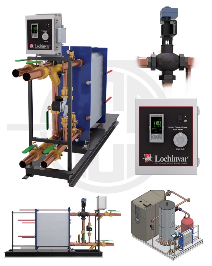 Arizona Climate Supply - Lochinvar indirect plate and frame water heaters
